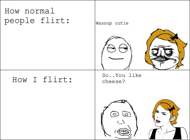 Vai tavs bijušais draugs ar tevi flirtē?