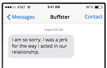 هل يجب أن تعتذر لصديقك السابق؟