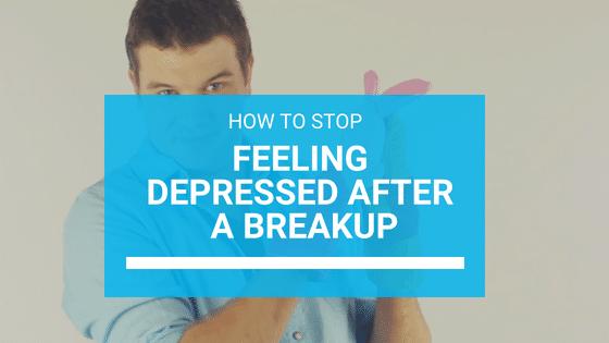 Me siento tan deprimido después de una ruptura (¿cómo paro?)