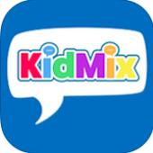 KidMix - sotsiaalse võrgustiku ja Playdate Planner lastele