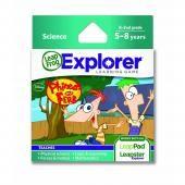 """Mokymosi žaidimas """"LeapFrog Explorer"""": """"Disney Phineas"""" ir """"Ferb"""""""