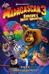 Madagaskar 3: Europe's Most Wanted