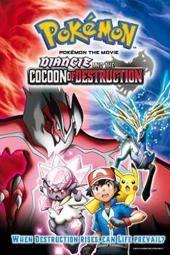 """Filmas """"Pokemon"""": Diancie ir sunaikinimo kokonas"""