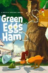 Zielone jajka i szynka