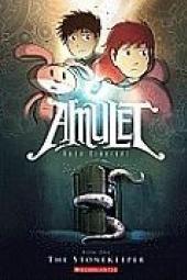Stenholderen: Amulet, bog 1