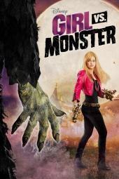 Pige mod monster