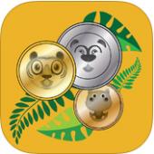 Dschungelmünzen - Münze Mathe lernen learn