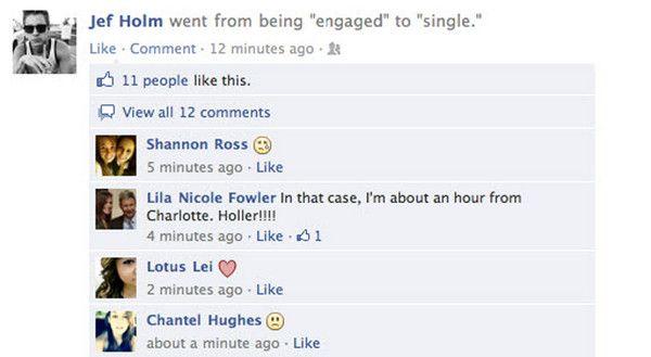 Warum ein Ex-Freund Ihre Beziehung auf Facebook nicht 'offiziell' macht